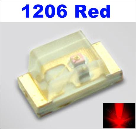 Red 1206 SMD LED